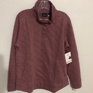 Marmot Roice Quilted Long Sleeve Pullover Size XL
